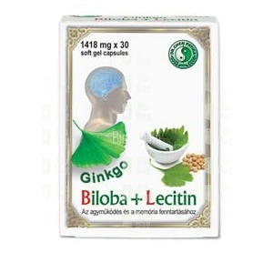 Dr. Chen ginkgo biloba+lecitin kapszula
