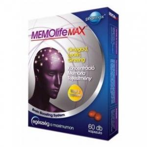 Memolife-Max-kapszula-60db